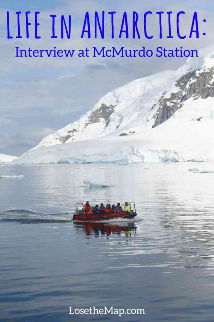 Life in Antarctica, McMurdo Station interview