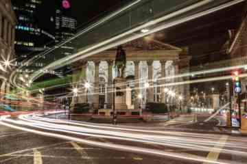 Bank London at Night 2