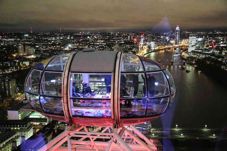 Top of London Eye