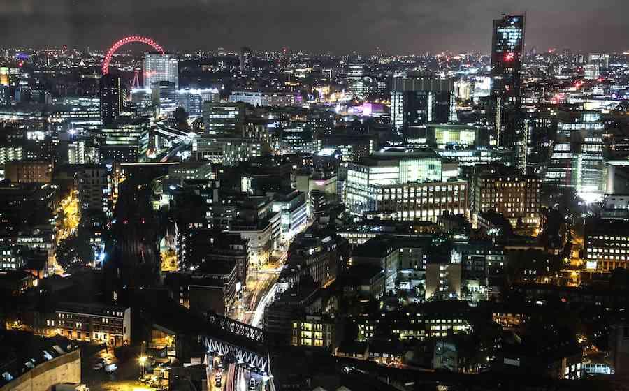 Shard View - London at Night