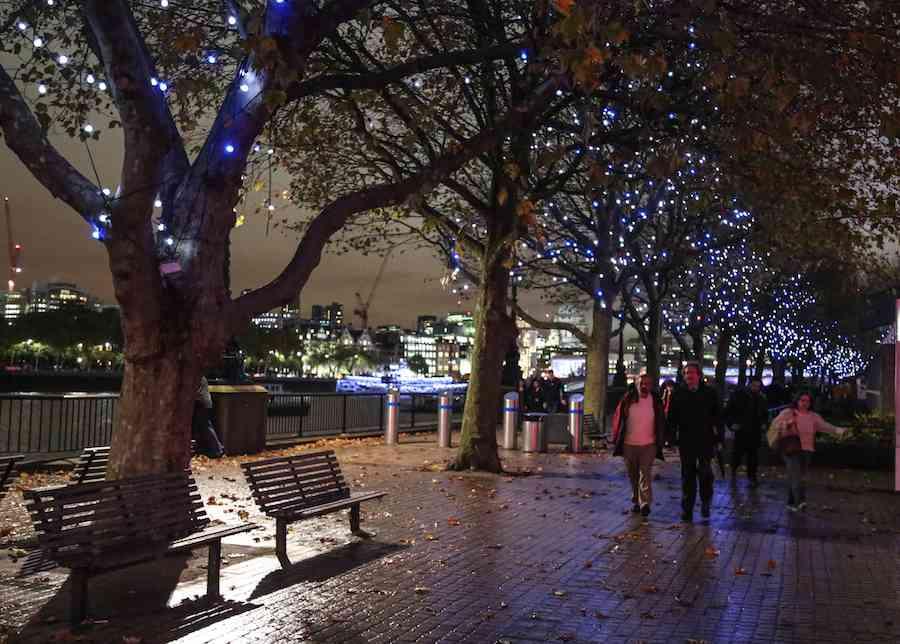 South Bank London at Night