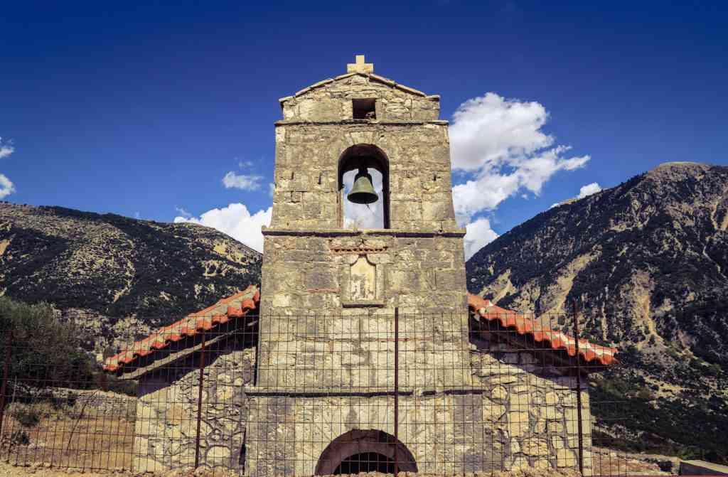 Abandoned Greek church