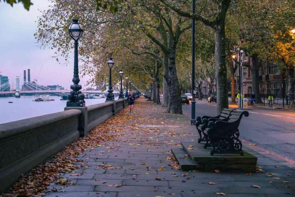 Chelsea jogging