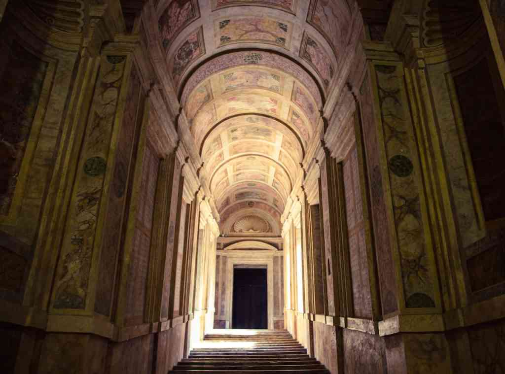Inside the Palazzo