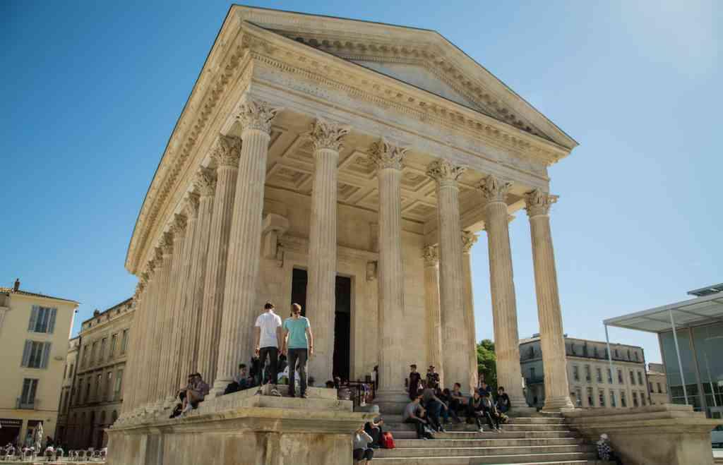 Nimes Parthenon