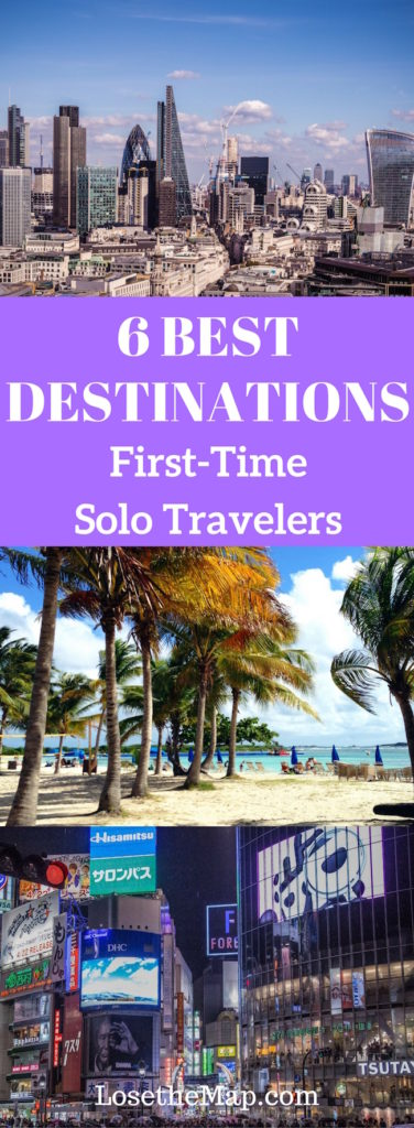 Best Destinations First Time Solo Travelers