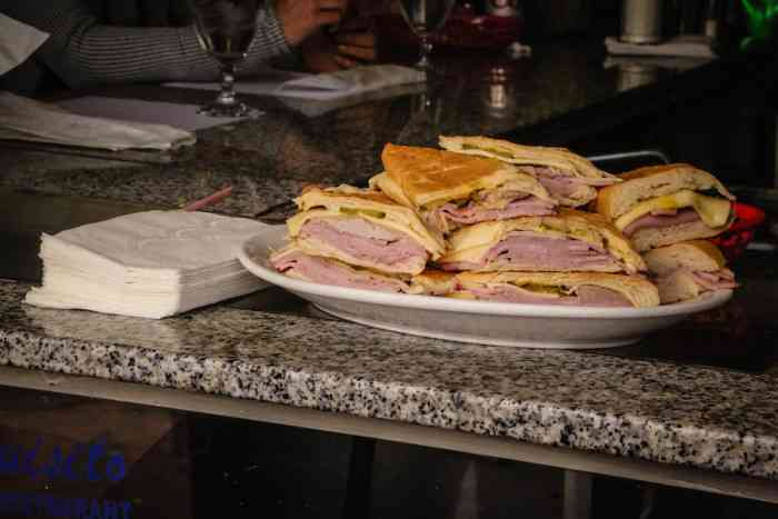 Cuban sandwiches Little Havana