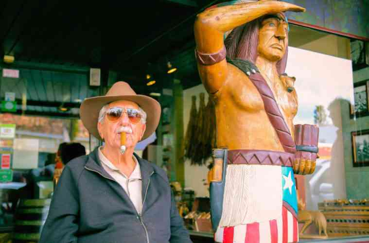 Don Pedro and Native American