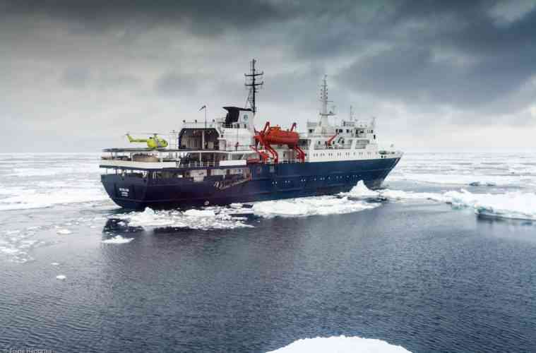 Ortelius Ross Sea Antarctica