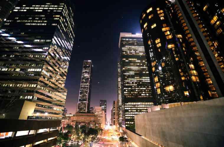 LA Downtown Night