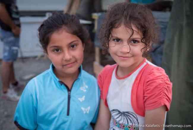 Ahrin & Oly Idomeni refugee camp