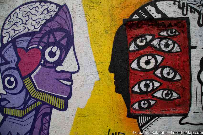 Anafiotika Graffiti