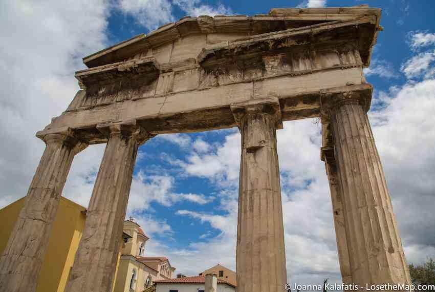 Gate Athens Archegetis