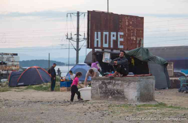 Iodine Hope refugee camp