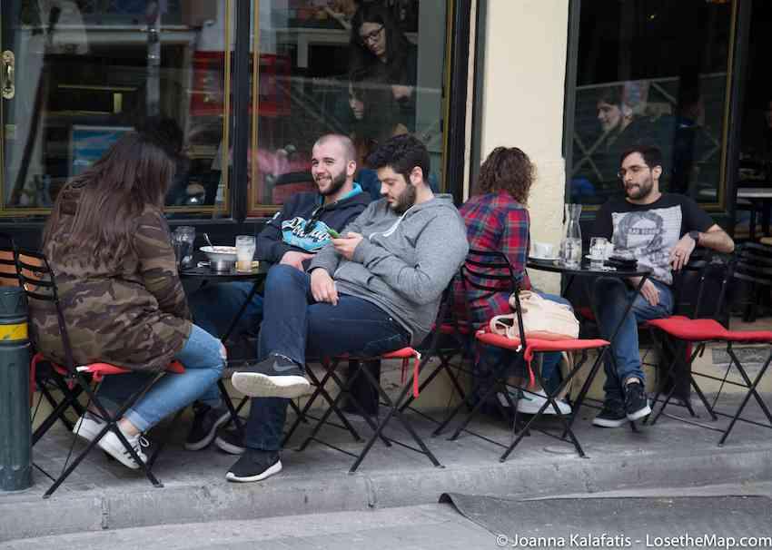 Psirri Cafes