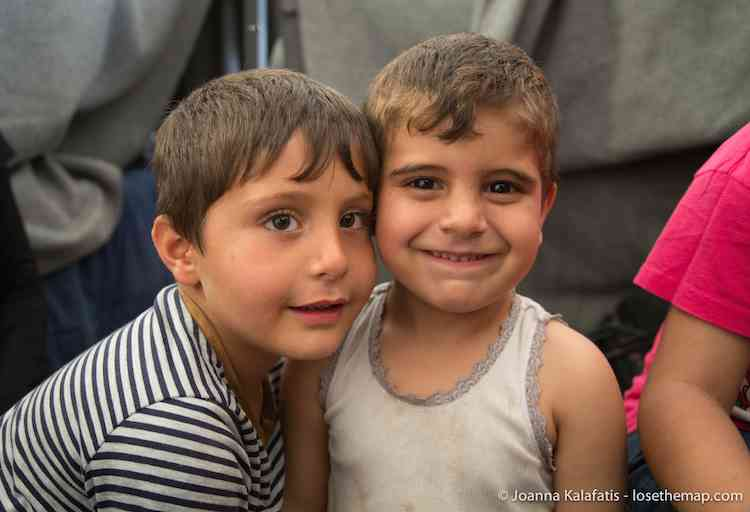 The Boys of Idomeni refugee camp