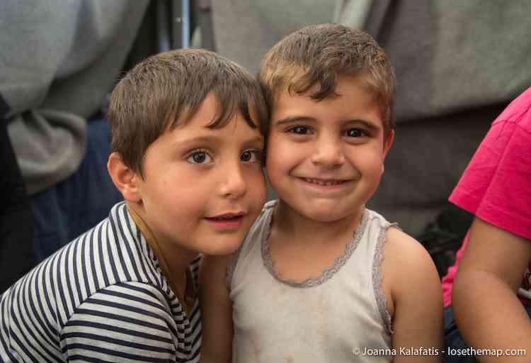 The Boys of Idomeni refugee camp