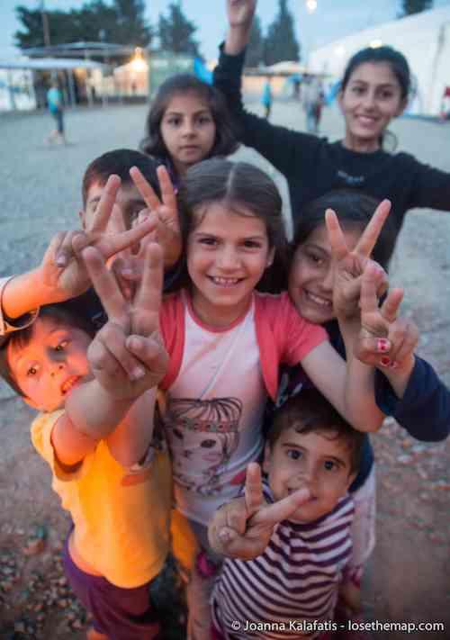 The Kids of Idomeni refugee camp
