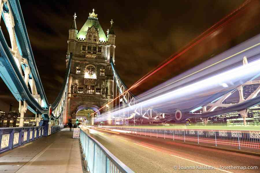 Travel Photography London night