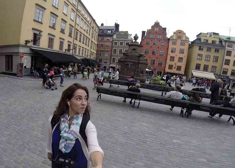 Walking around Gamla Stan