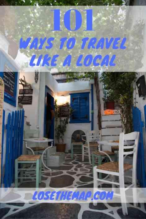 101 Ways Travel Like a Local