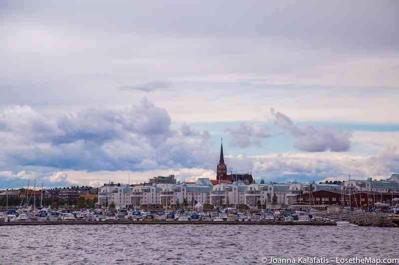 Lulea Swedish Lapland Skyline