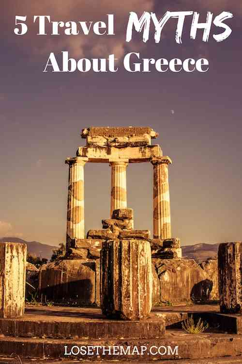 Travel Myths About Greece