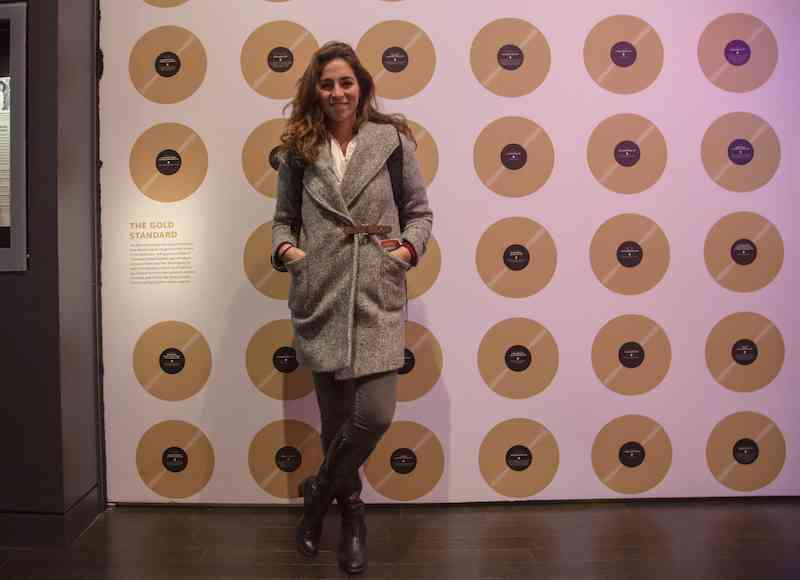 Gold Record Wall Washington DC