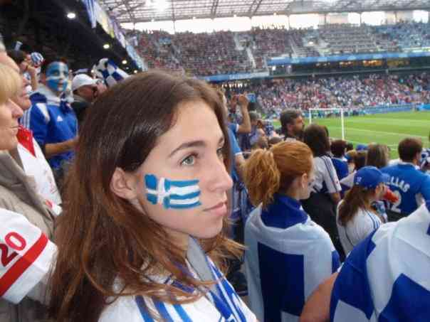 Greece Euro Cup Flag