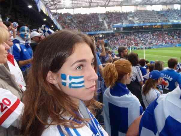 Greece Euro Cup Flag