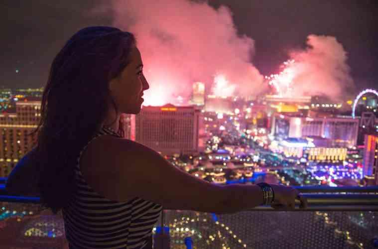 Las Vegas New Year fireworks