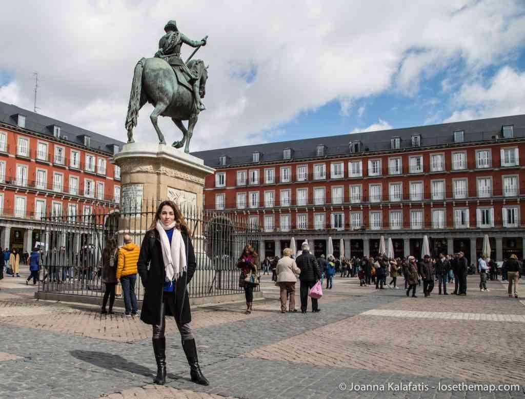 Me in Plaza Mayor Madrid