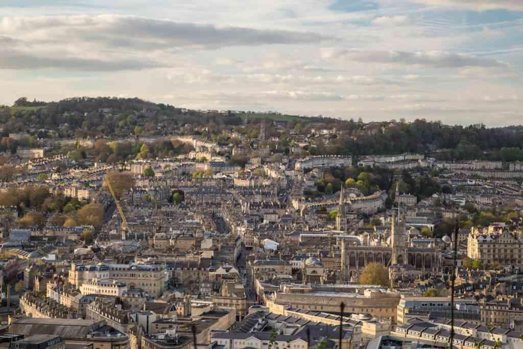 Visit Bath Alexandra Park view