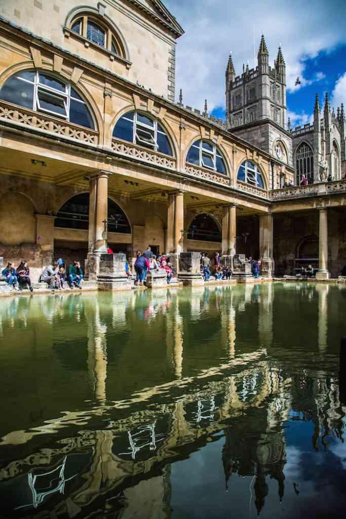 Romans Baths Reflection