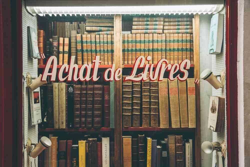 Achat de Livres Paris