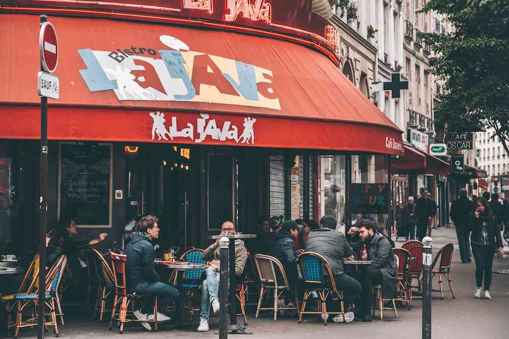 Bistro La Java in Paris