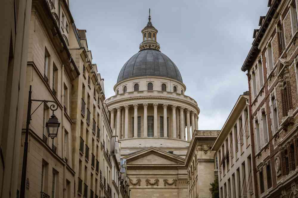 Pantheon in the Latin Quarter Paris