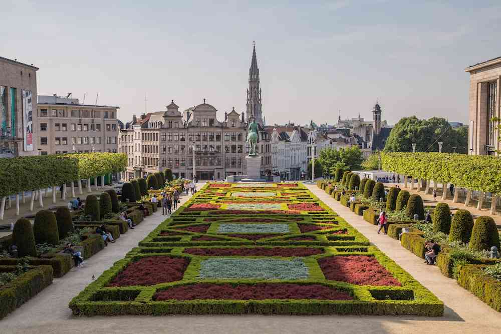 Albertine Park - Brussels views