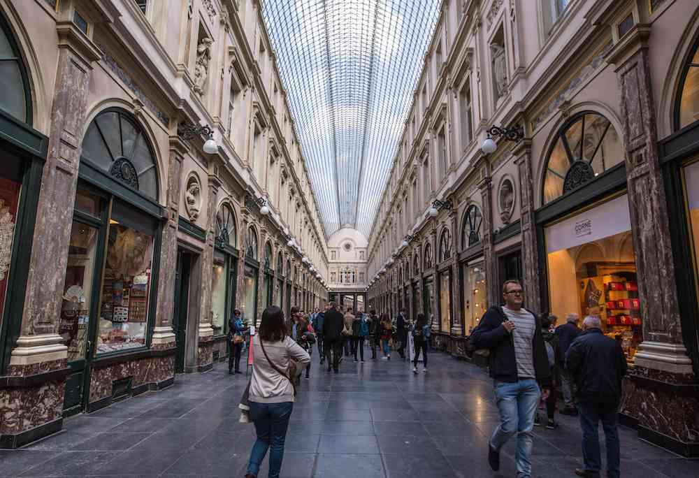 Galeries St Hubert Brussels