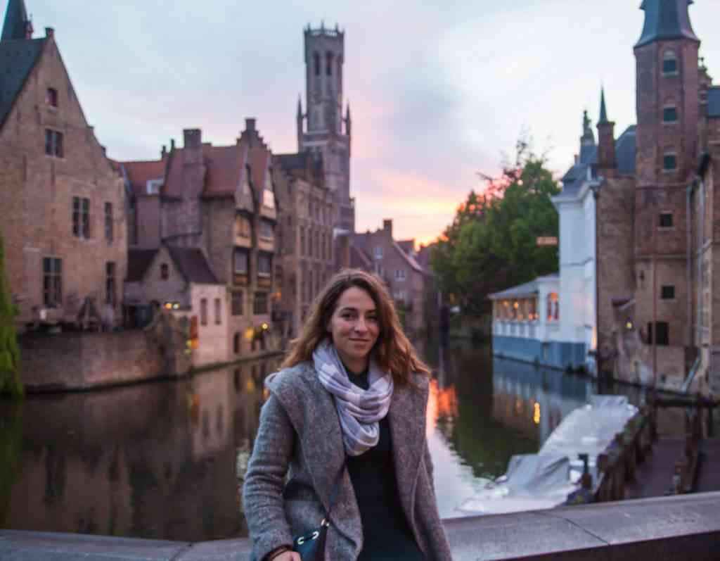 Happy in Bruges