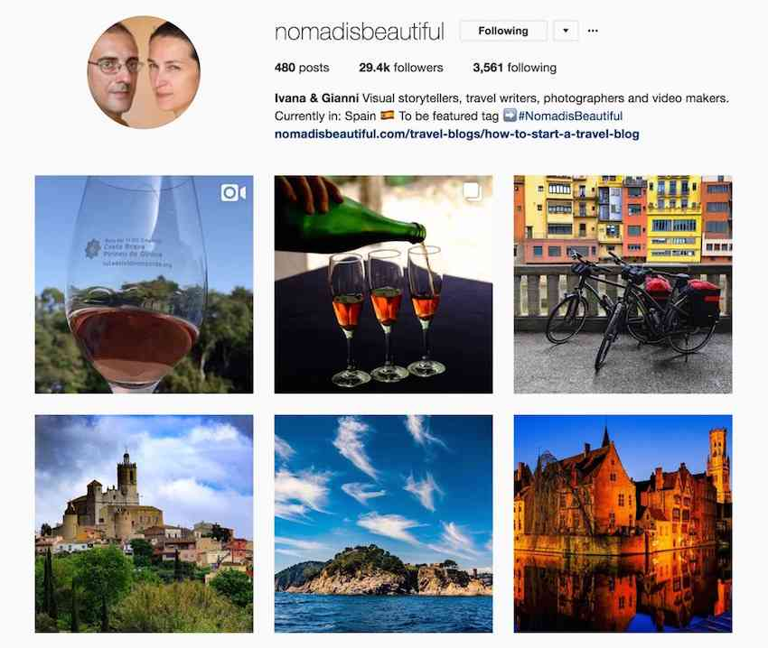 Nomad is Beautiful Instagram