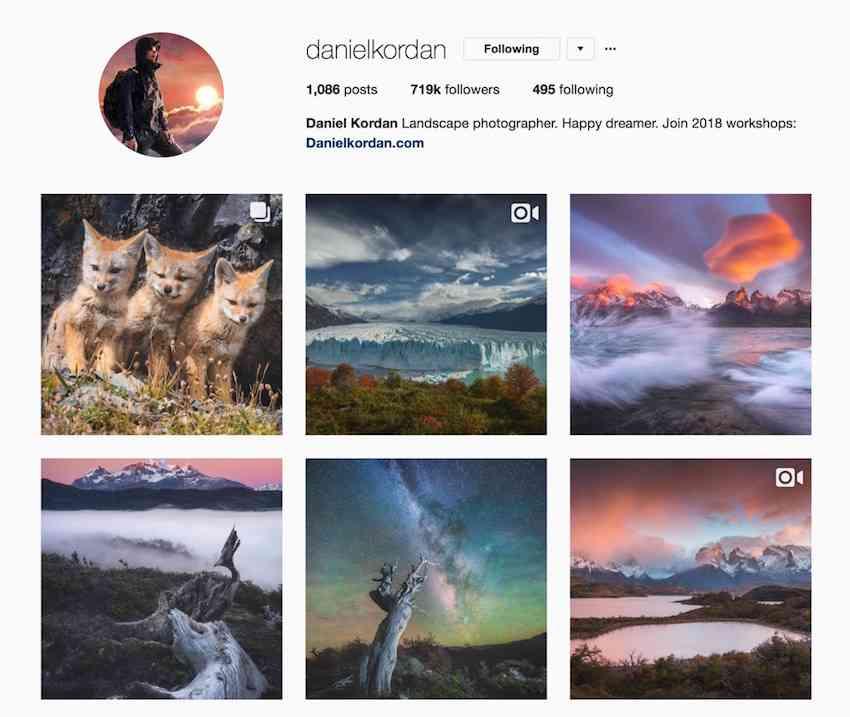 Daniel Kordan Instagram