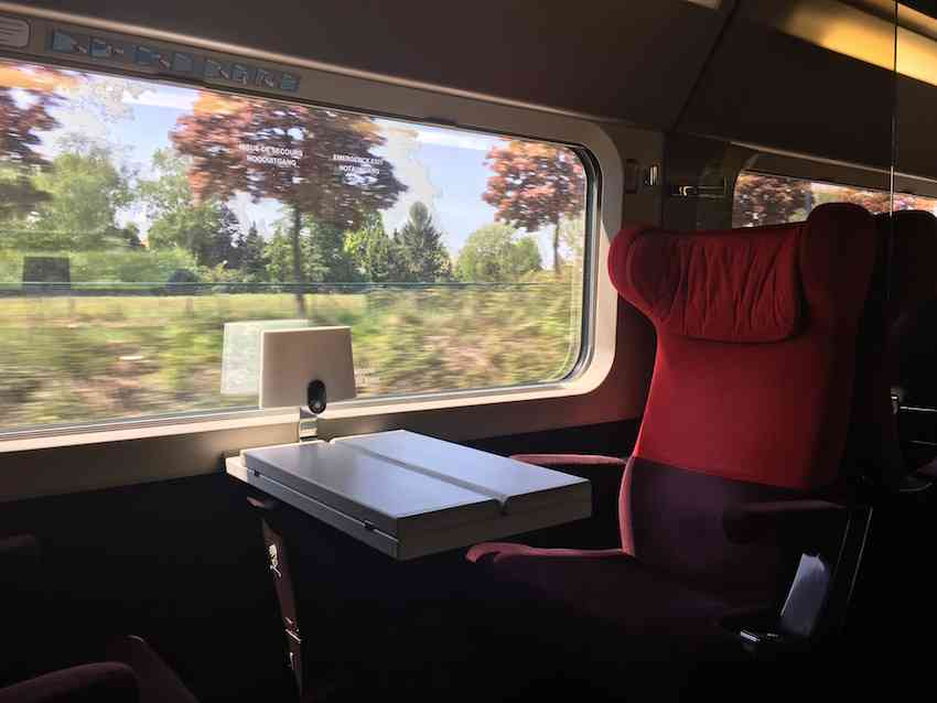 Train travel with Rail Europe