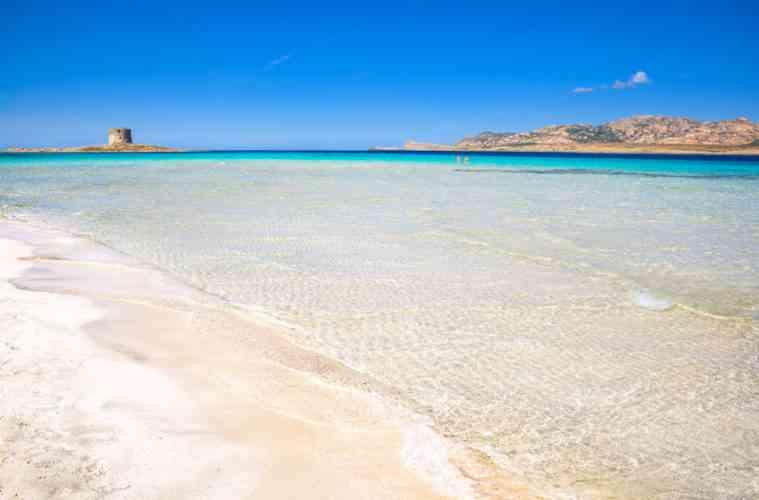 Pelosa Beach, Sardinia, Italy