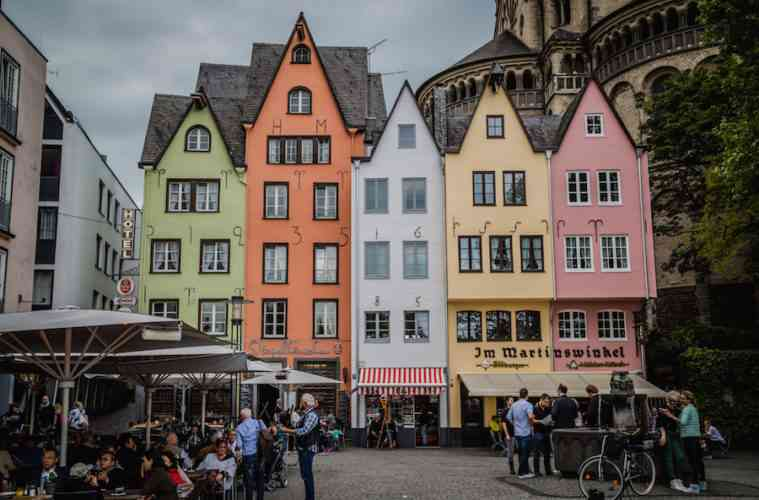 Cologne Old Town Houses