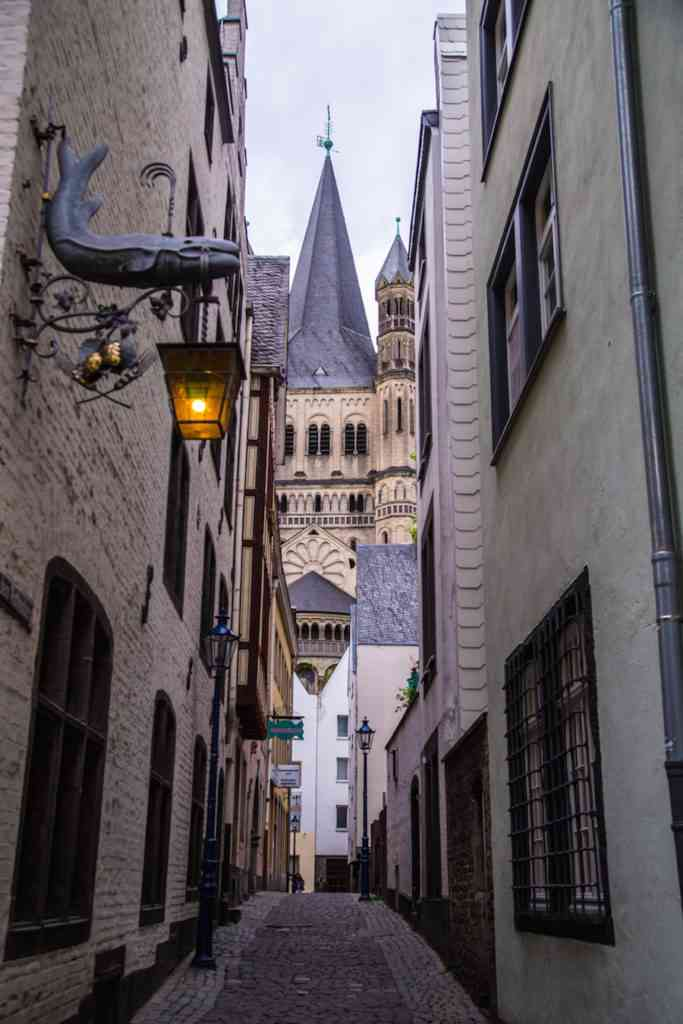 Cologne Old Town Street