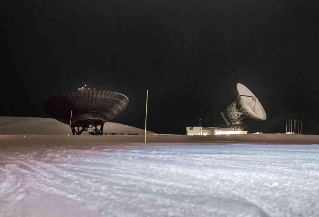 Svalbard satellites