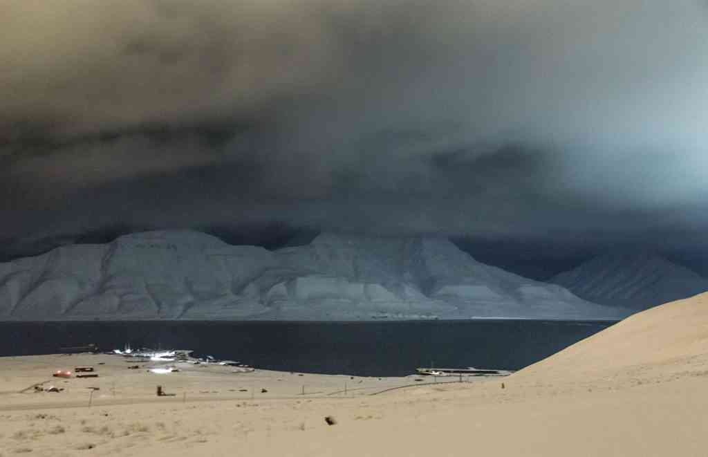 Fjord Longyearbyen, Svalbard