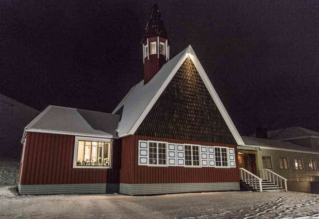 Longyearbyen, Svalbard church