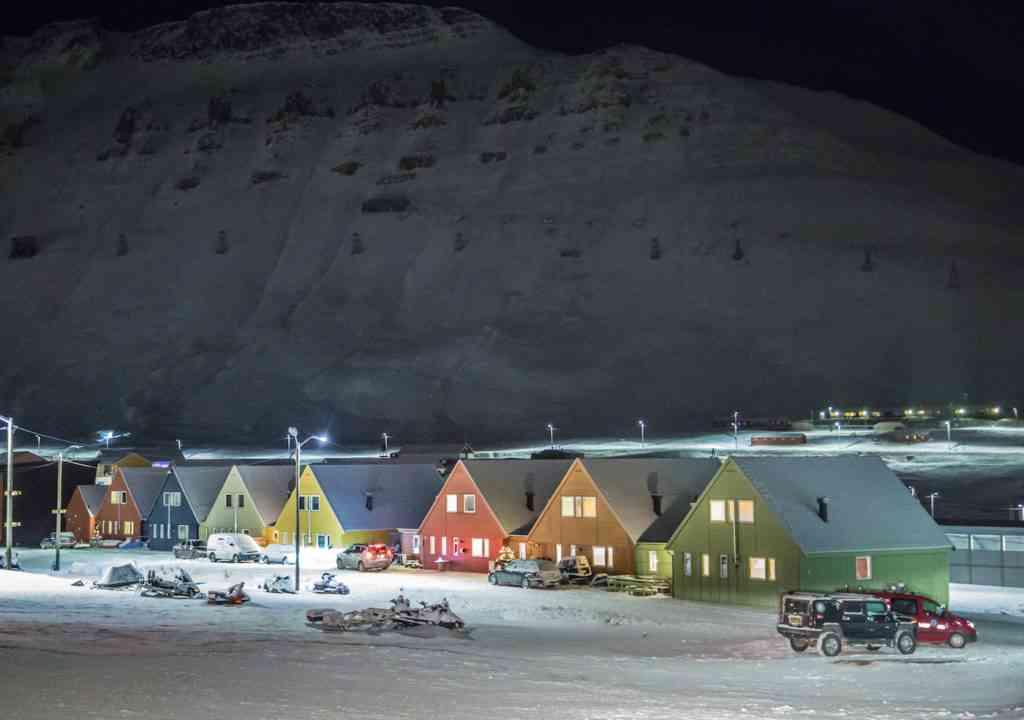 Longyearbyen, Svalbard houses